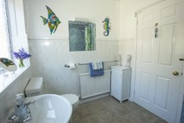 Puffin House ground floor bathroom