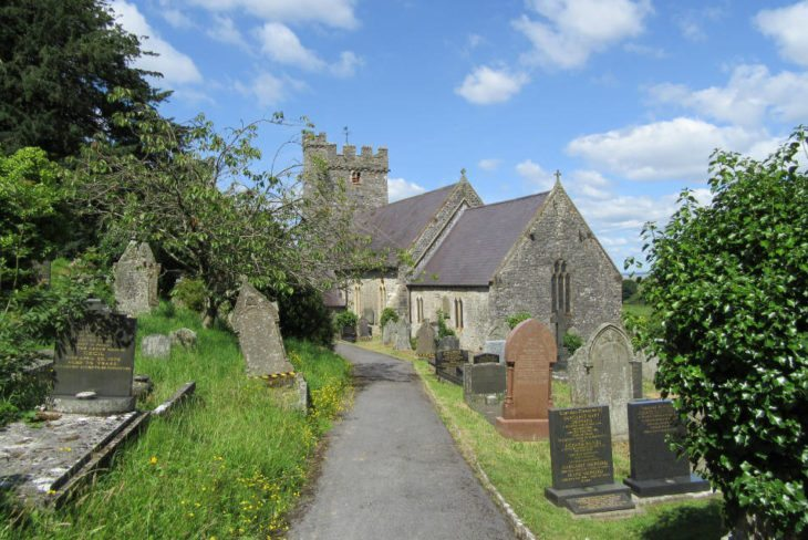 St Rhidian and St Illtyd's Church, Llanrhidian, The Gower Peninsula, Swansea