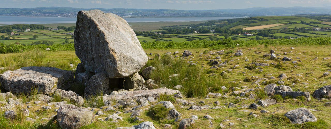 Arthur's Stone, Reynoldston on the Gower Peninsula