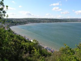 Mumbles, Swansea from the nature reserve